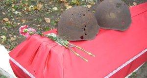 В селе Красноармейское перезахоронят останки советских воинов