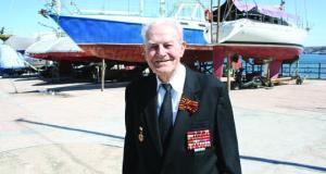 В Севастополе ушёл из жизни самый старший в стране яхтенный капитан - Рюрик Николаевич Акимов