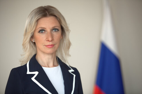 Брифинг официального представителя МИД РФ Марии Захаровой состоится в Севастополе 4 мая