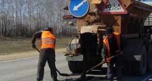 На трассе «Симферополь – Керчь» латают ямы