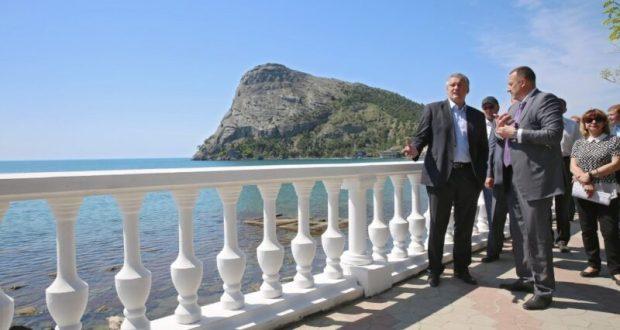 Глава Крыма Сергей Аксёнов посетил Судак и... похвалил руководителей района
