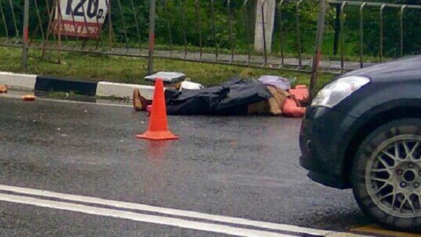Жуткая авария в Перевальном под Симферополем. Пешеходы, как кегли