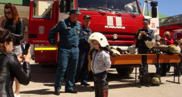 Крымчане отметили День пожарной охраны России