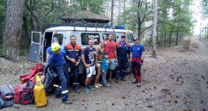«КРЫМ-СПАС» помог туристам, заблудившимся в районе горы Малая Ай-Петри