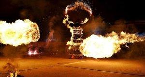 В Коктебеле в августе - Международный Фестиваль Огненных театров