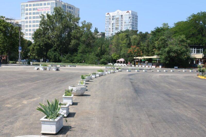 В центре Севастополя, в Артбухте организована пешеходная зона