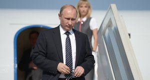 Владимир Путин в Севастополе. Бухта Казачья