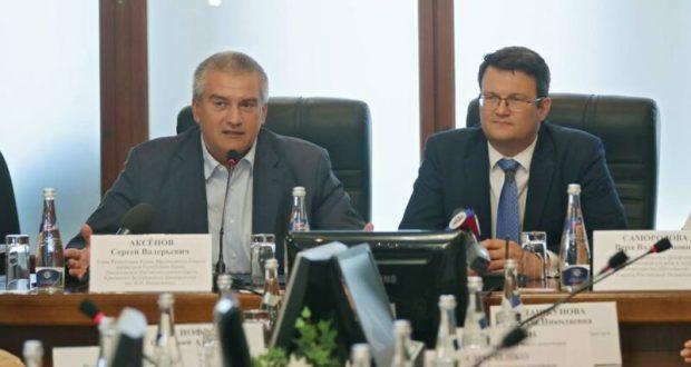 Андрей Фалалеев - нового ректора КФУ представил Глава Крыма Сергей Аксёнов