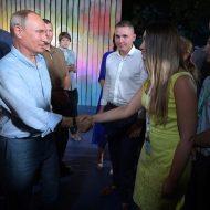 Владимир Путин на форуме «Таврида»