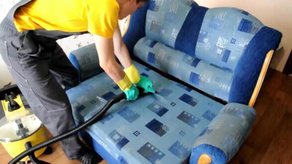 Химчистка дивана на дому – никакой самодеятельности, доверяем профессионалам