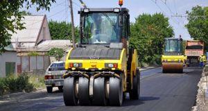 В Симферополе завершился ремонт дорог