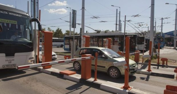 В аэропорту Симферополя заработала автоматизированная парковочная система