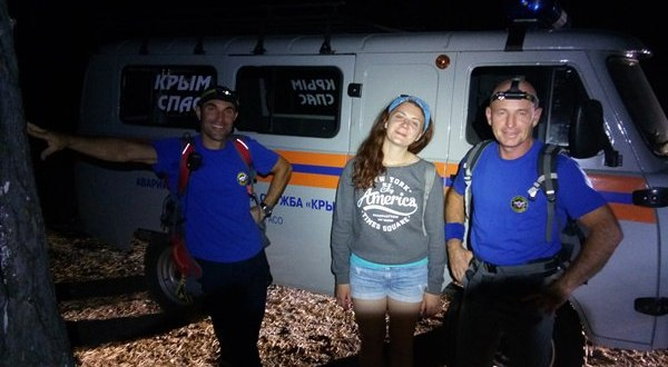 Сезон туристов-«потеряшек» в Крыму не завершен. Барышню спасали с Учан-Су