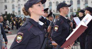 В Симферополе приняли присягу курсанты – будущие сотрудники органов МВД