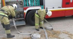 В Крыму ликвидирован пожар на нефтебазе