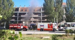 В Феодосии горела гостиница. Эвакуировали 13 постояльцев