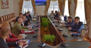 В администрации Симферополя прошла встреча с деловыми кругами Уральского региона