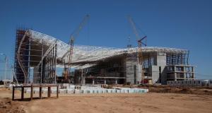 Строительство первой очереди нового аэропорта «Симферополь» идет по графику