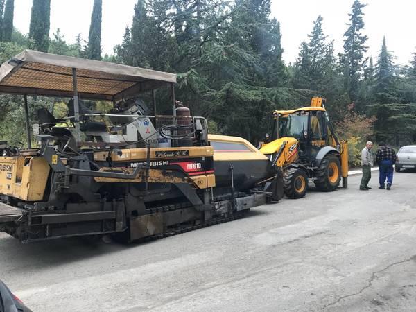 Ремонт дорог в Ялте практически завершён
