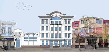 В Симферополе новая архитектурная мода – увеличение этажности старых зданий в центре