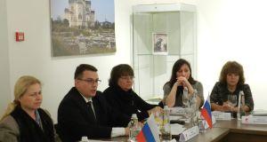 В Херсонесском музее состоялось заседание 33-го Международного Харакского форума