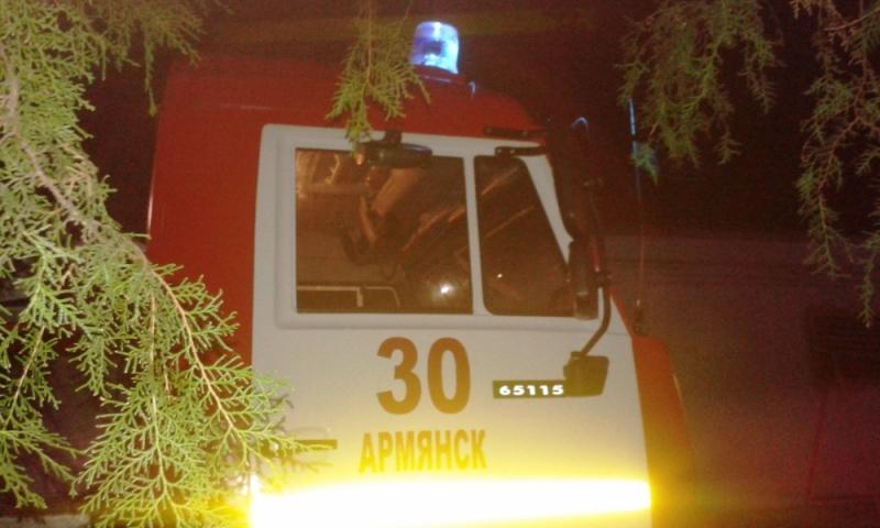 ВКрыму из-за взрыва газа случился пожар вмногоэтажке