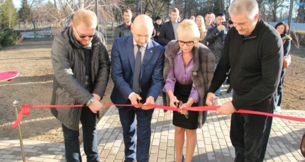 В пгт. Нижнегорский открыли первый модульный многофункциональный центр «Мои Документы»