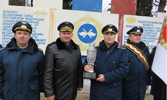 Дислоцированный в Крыму радиотехнический полк ВВС и ПВО ЮВО стал лучшим в ВКС России