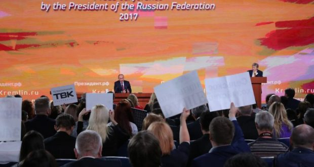 Почему Путин не говорил о Крыме? Внимание общества уходит в сторону общих проблем