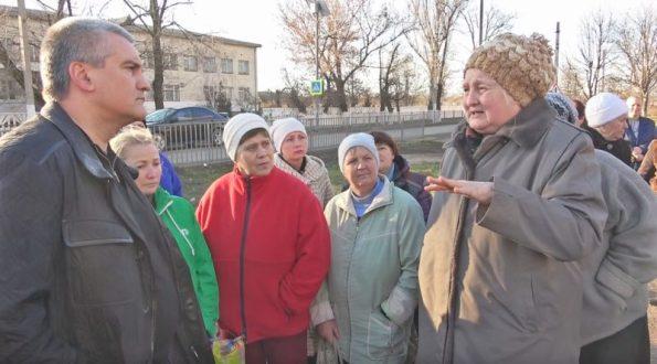 Сергей Аксёнов проинспектировал Нижнегорский район