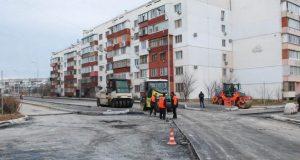 В 8 микрорайоне Евпатории практически завершено строительство внутриквартальных проездов