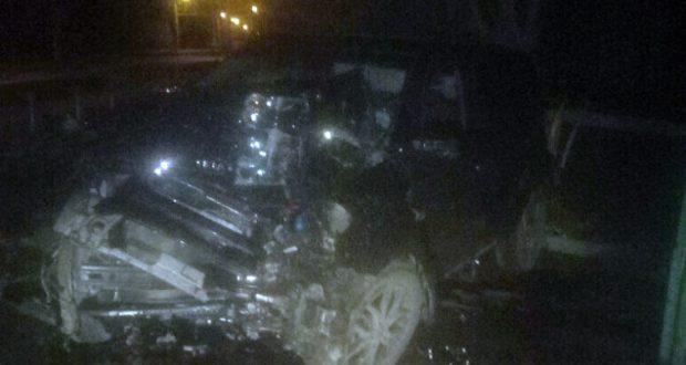 Ночное ДТП под Симферополем. Погиб водитель кроссовера
