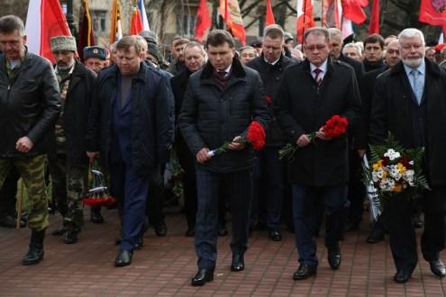 Накануне в крымской столице почтили память погибших в Афганистане