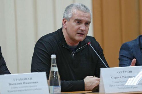 Сергей Аксёнов поручил проверить обоснованность поднятия тарифа на услуги водоснабжения в Крыму