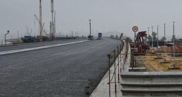 Перенесены сроки окончания работ по транспортной безопасности автоподходов к Крымскому мосту