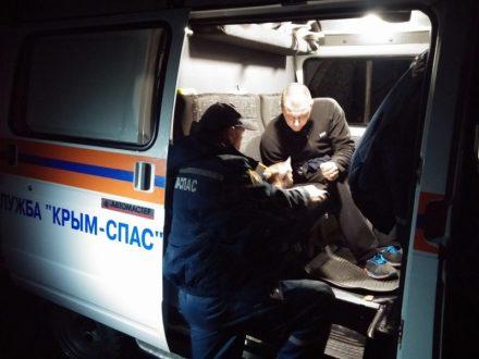 За минувшие сутки в горах Крыма спасены три человека