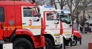 День спасателя в Симферополе отметили выставкой спецтехники