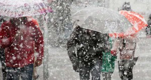 В четверг в Крыму сильный снег и ветер