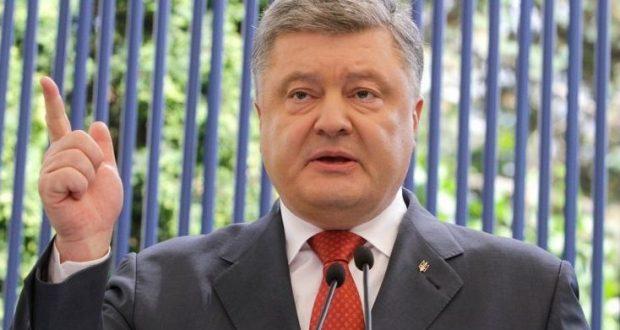 Пётр Порошенко хорошо отпраздновал: поблагодарил крымчан за веру в... Украину