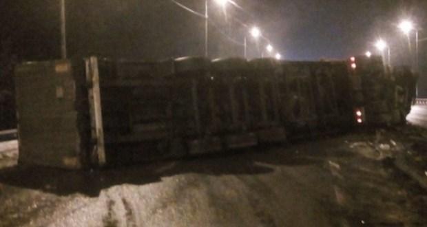 В Судаке инспекторы ДПС задержали нетрезвого водителя грузовика, совершившего ДТП