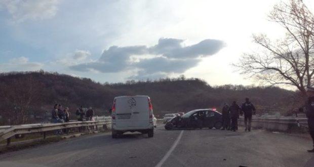 Из-за ДТП с КАМАЗом на два часа было затруднено движение по трассе «Симферополь – Бахчисарай»