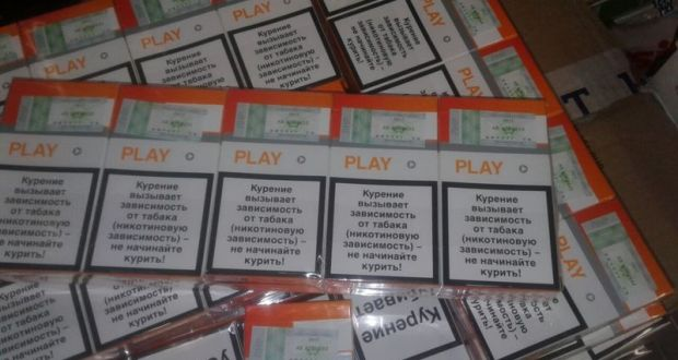 В Керчи выявлена контрафактная партия табачных изделий ценой в полтора миллиона рублей
