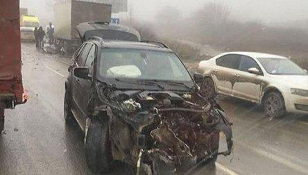 ДТП на трассе «Симферополь – Керчь». «Матиз» на обочине, четверо пострадавших