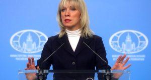 Официальный представитель МИД России Мария Захарова уличила немецкую прессу во лжи о Крыме