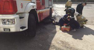 ДТП в Ялте. Пожарная машина подмяла мотоцикл