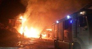 Пожар в Свято-Успенском мужском монастыре в Бахчисарайском районе Крыма
