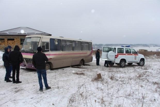 МЧС о ситуации на дорогах Крыма