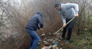 Под Симферополем близ села Партизанское ликвидирована стихийная свалка