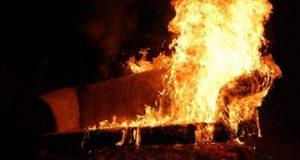 Вечерний пожар в Ялте: десять человек эвакуированы, один в больнице