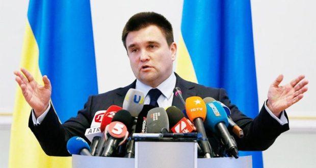 Глава МИД Украины Павел Климкин все еще угрожает немецким компаниям, работающим в Крыму